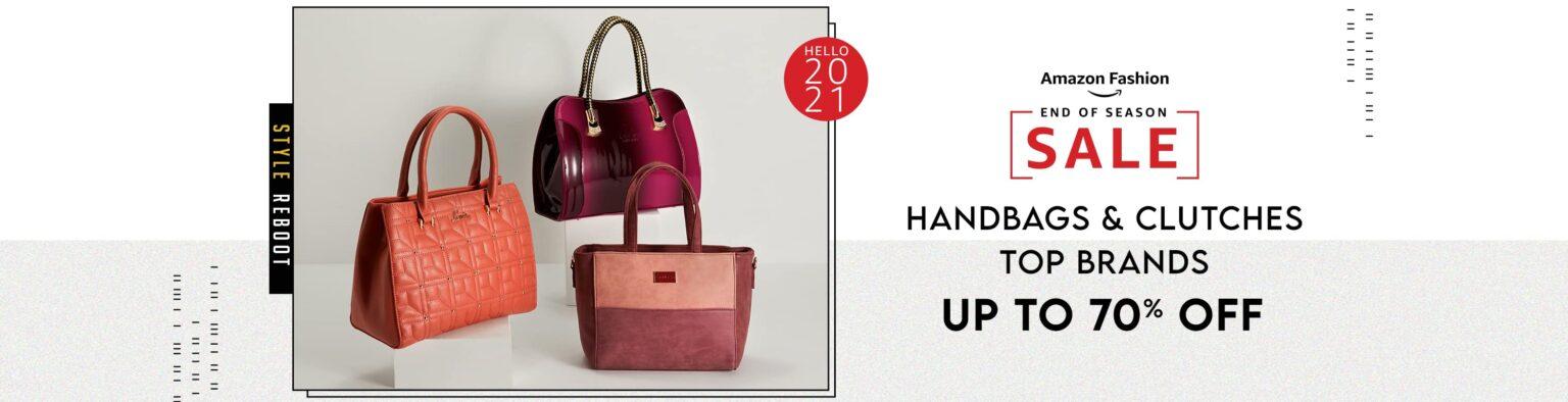 Top 20 Handbag brand in India 2021