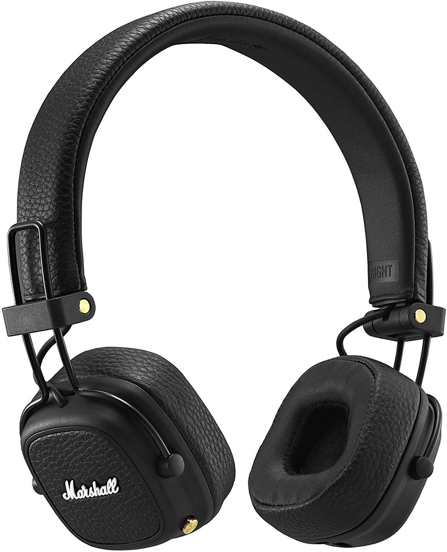 Marshall Major III Bluetooth Wireless On-Ear Headphones (Black)