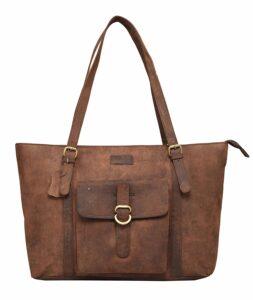 LEADERACHI Women's Tote Bag (Muskat Brown)