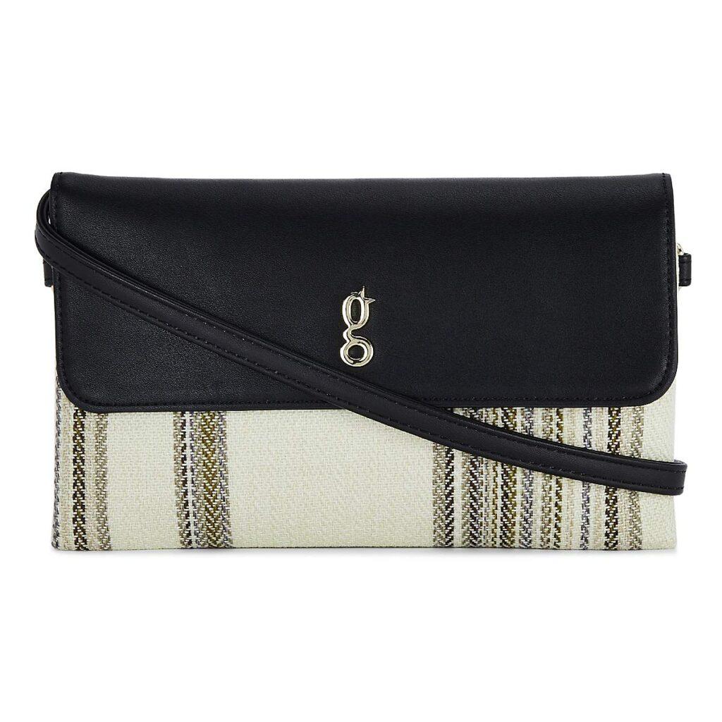 global desi Women's Sling Bag (Beige)