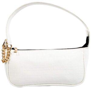 Kinnoti Vegan Leather Croco Shoulder Sling Bag for Women