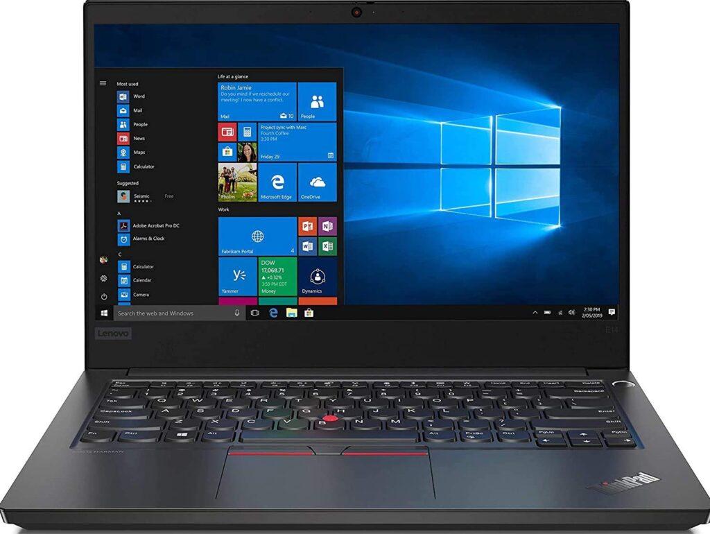 Lenovo ThinkPad E14 Intel Core i5 10th Gen 14-inch Full HD IPS Thin and Light Laptop