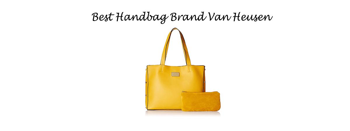 Best Handbags Brand Van Heusen in India
